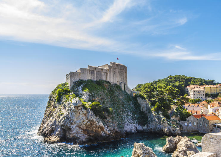 Dubrovnik - Fort Lovrijenac o Fortezza di San Lorenzo