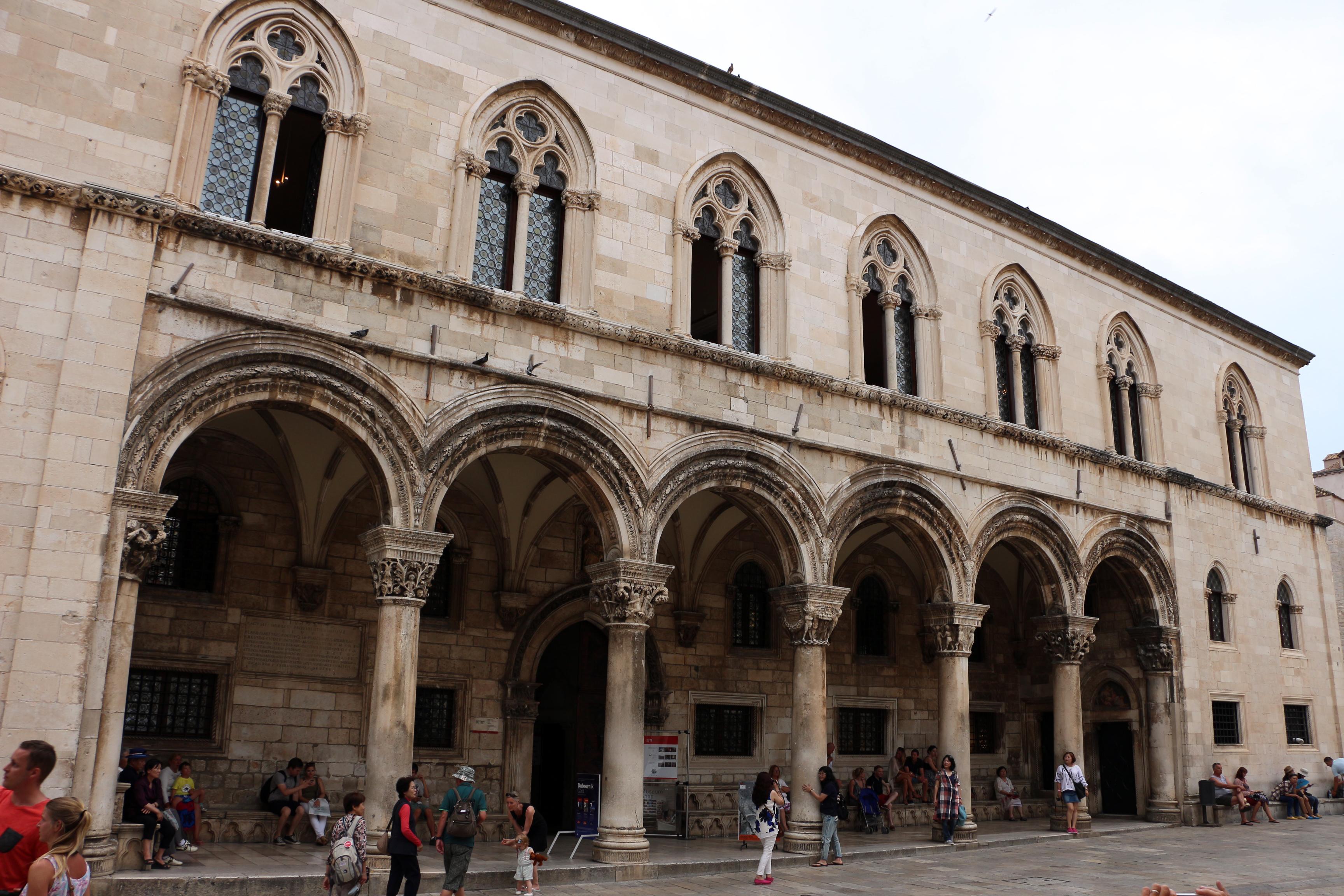 Dubrovnik - palazzo del rettore