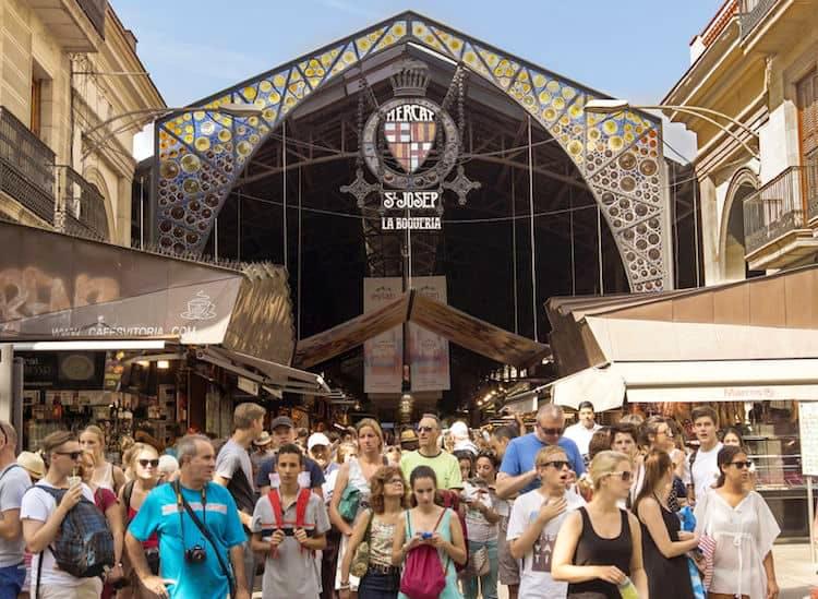 Barcellona - La boqueria - Crociere nel cuore