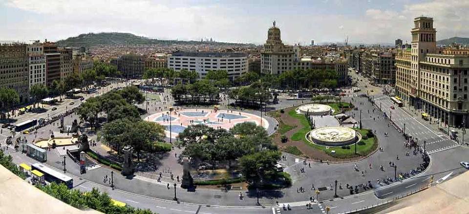Barcellona - PIAZZA DELLA CATALOGNA