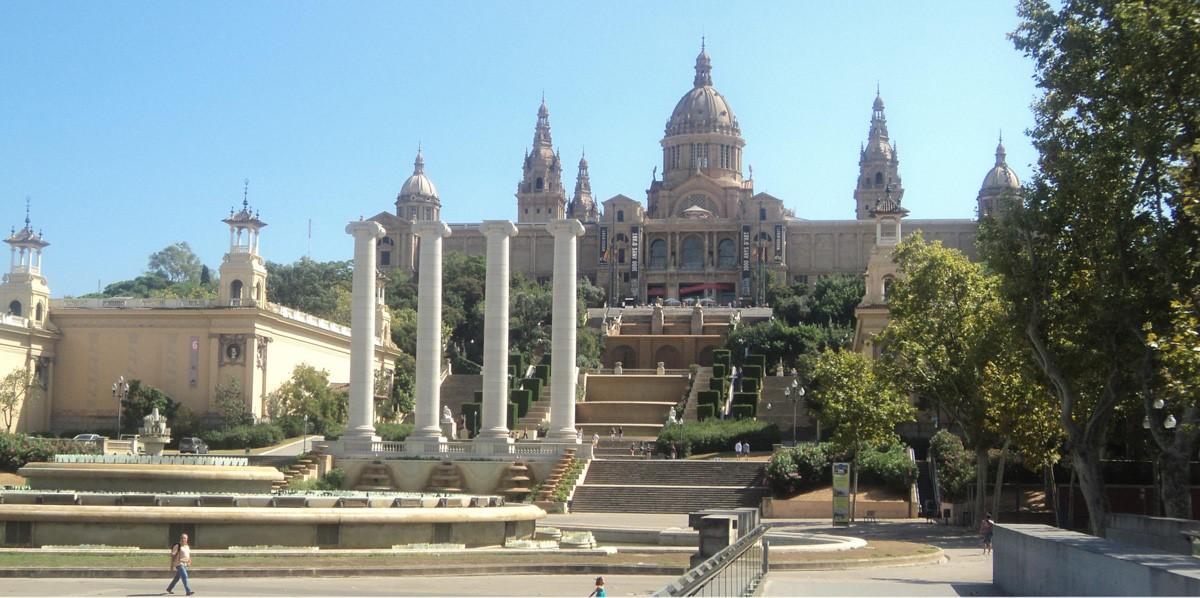 Barcellona - Museo di arte Catalana - crociere nel cuore