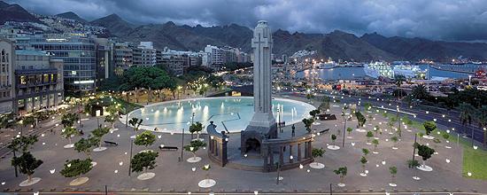 Tenerife - Plaza de Espana