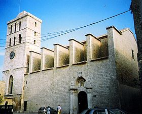ibiza - cattedrale della Vierge de las Nieves