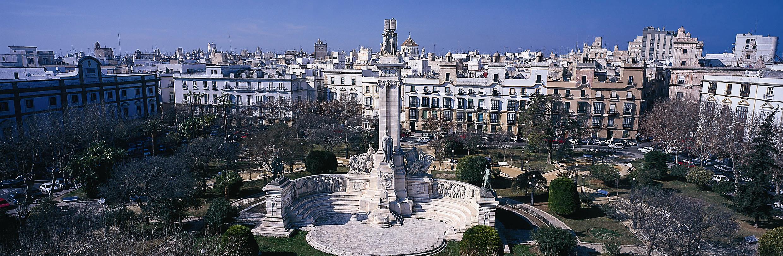 Cadice - plaza de Espana