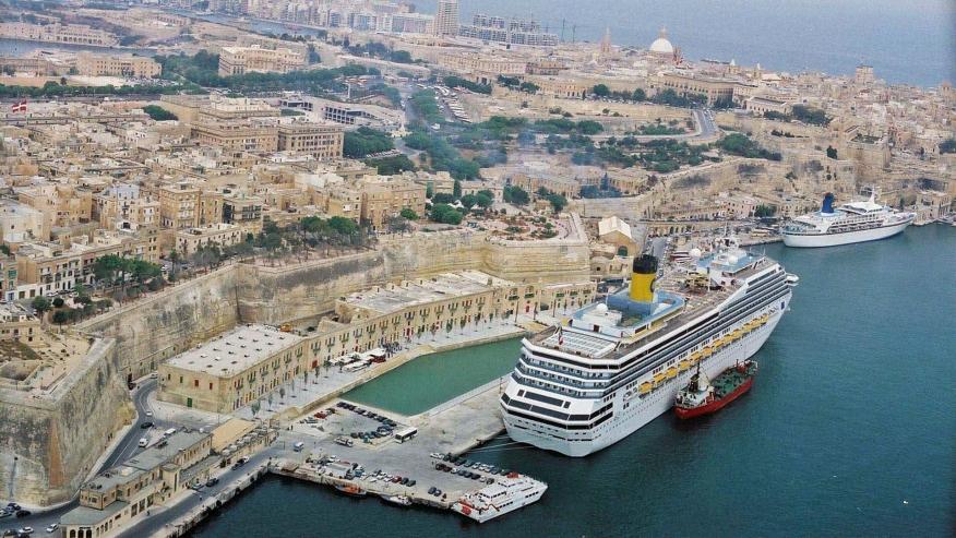 La Valletta - porto