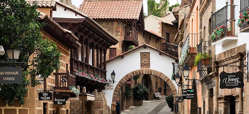 Barcellona - poble espanol