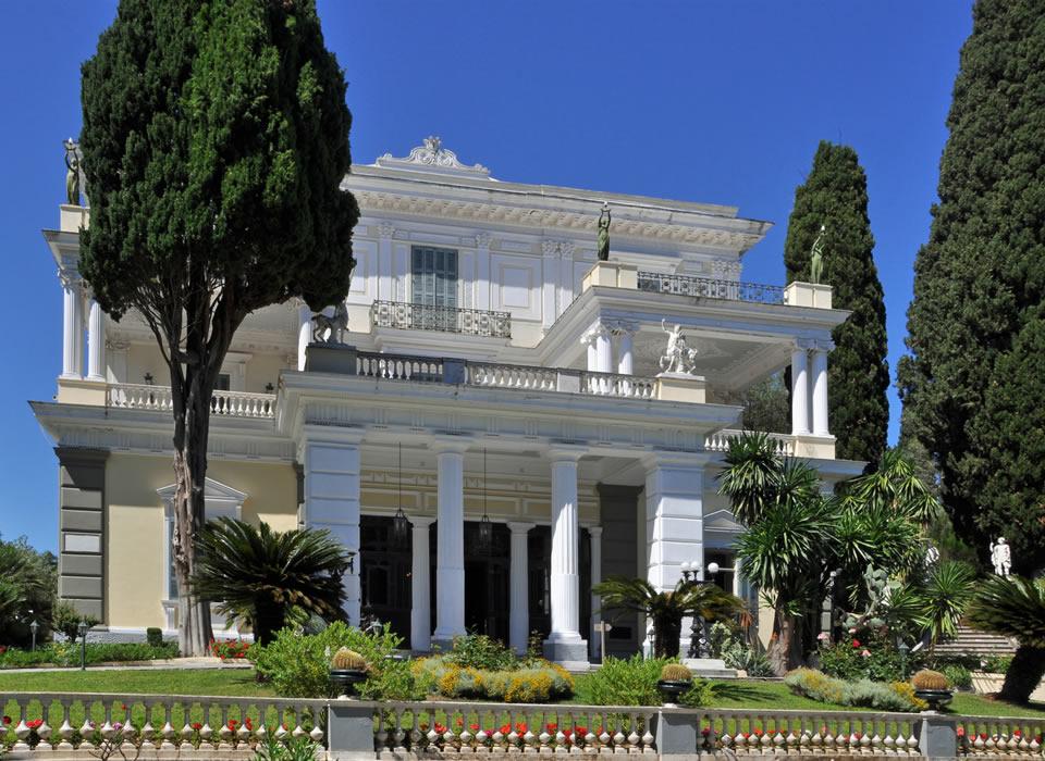 Corfù - Palazzo Achilleion  villa Sissi