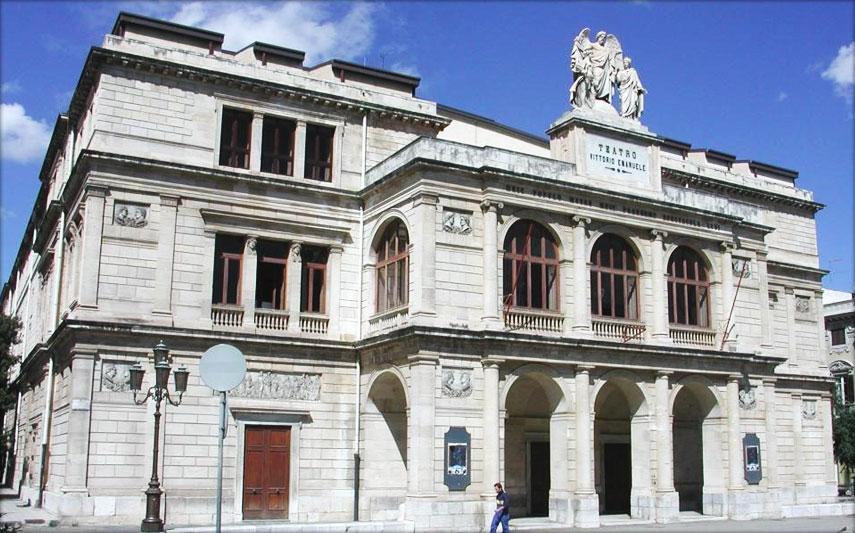 Messina - IL TEATRO VITTORIO EMANUELE