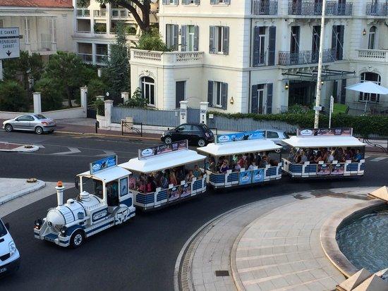 Cannes - trenino turistico