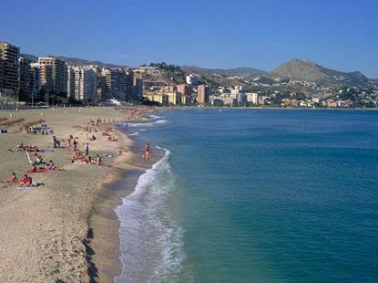 Malaga - Playa de La Malagueta