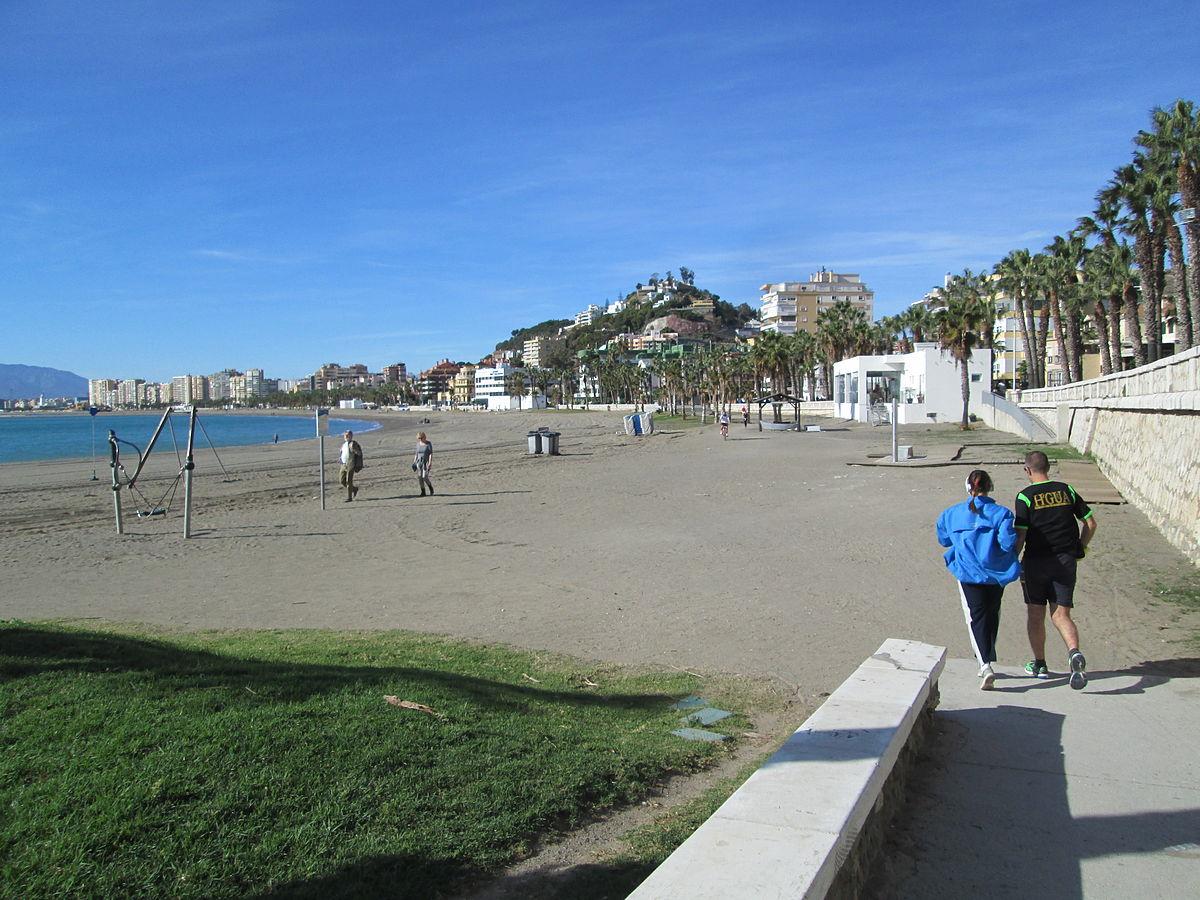 Malaga - Playa de la Caleta