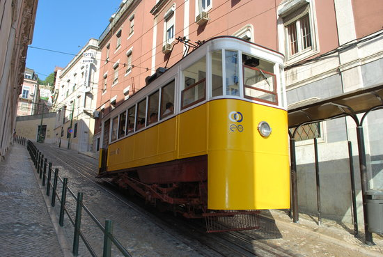Lisbona - Elevador da Gloria