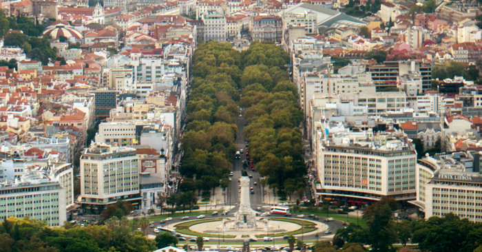 Lisbona -  Avenida da Liberdade