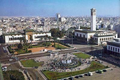 Casablanca - piazza delle nazioni unite