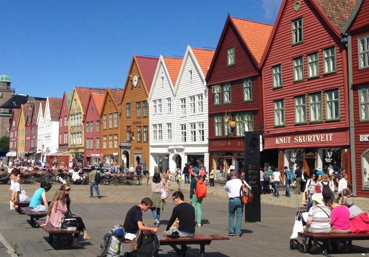 Bergen - centro storico