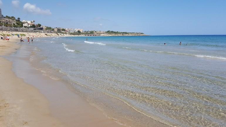 Tarragona - playa el miragle
