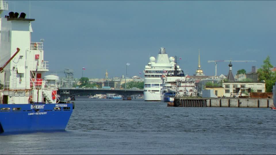San Pietroburgo - il porto