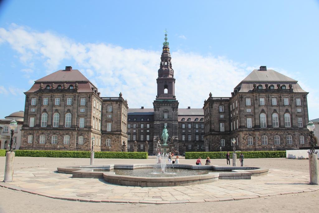 Copenaghen - PALAZZO DI CHRISTIANSBORG