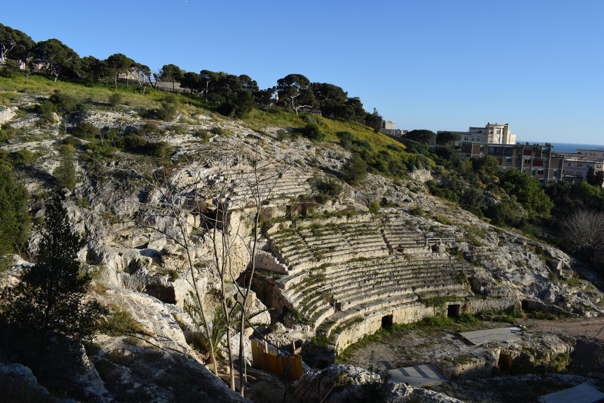 Cagliari - anfiteatro romano