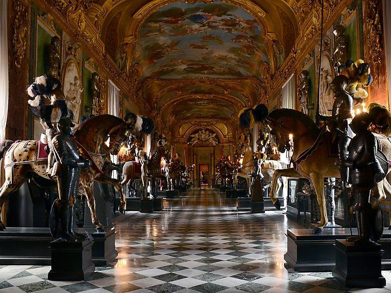 Stoccolma - palazzo reale armeria