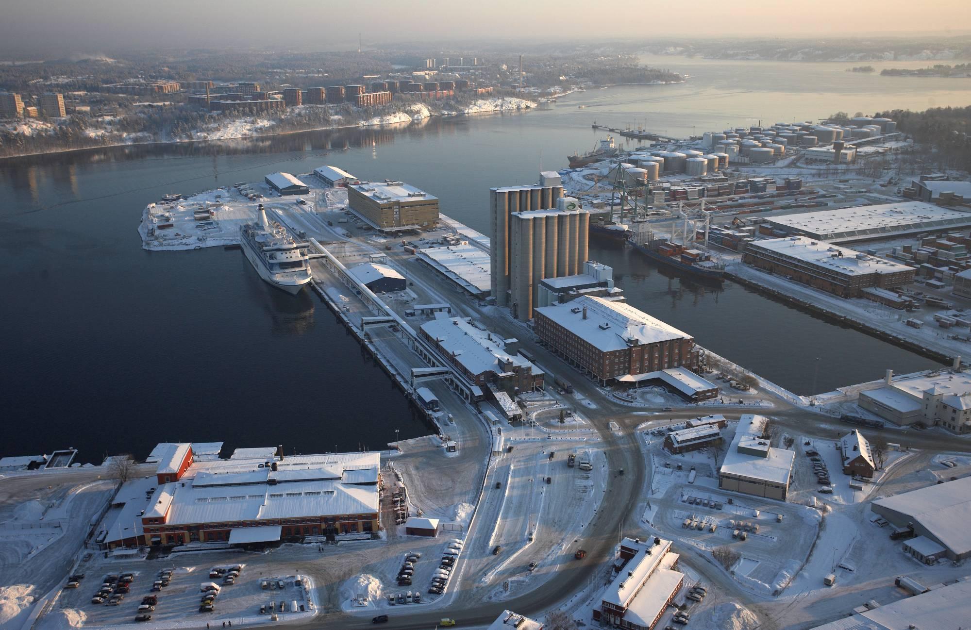 Stoccolma - porto Frihamnen