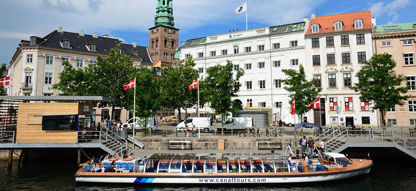 Copenaghen - giro in battello