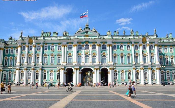 San Pietroburgo - Palazzo d'inverno