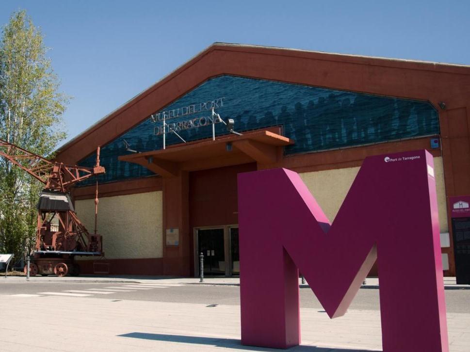 Tarragona - museo del porto