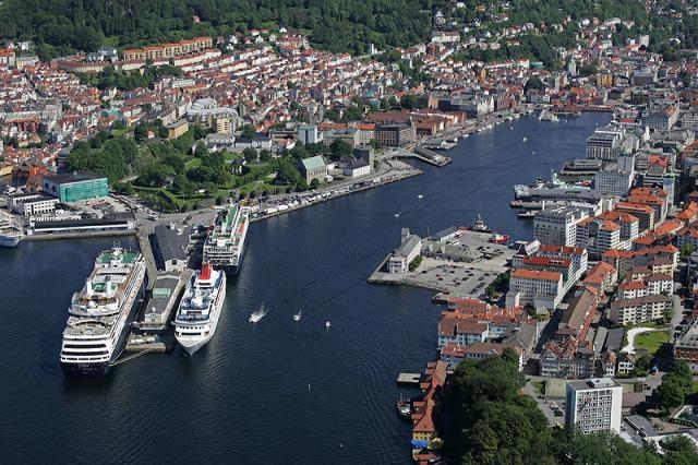 Bergen - porto