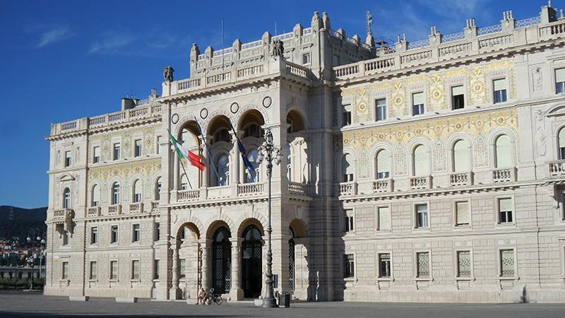 Trieste -  Palazzo della Luogotenenza Austriaca