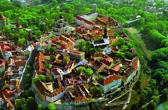 Tallinn - Panorama città vecchia