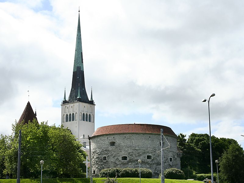 Tallinn - chiesa di Sant'Olav