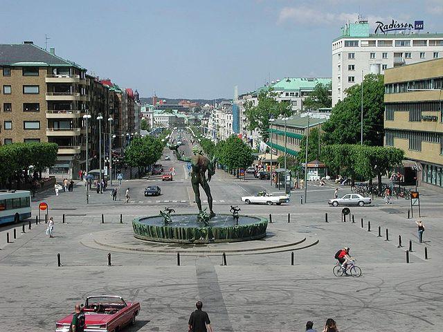 Goteborg - Götaplatsen