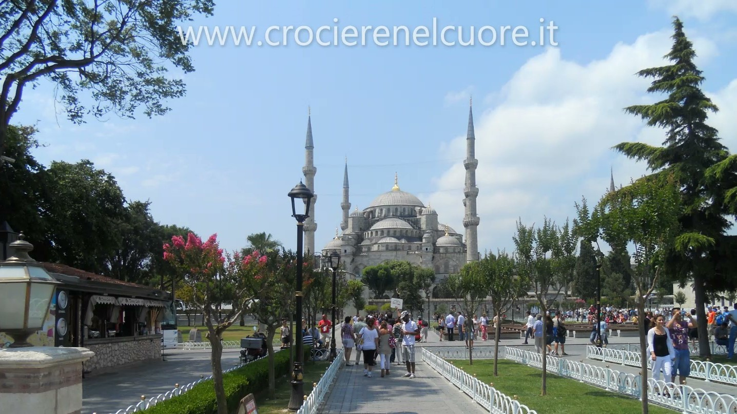 ISTANBUL - Moschea blu - crociere nel cuore