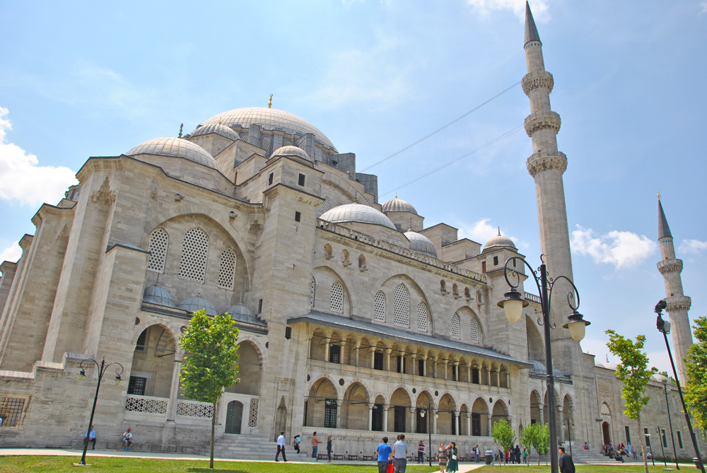 Istanbul - MOSCHEA DI SOLIMANO IL MAGNIFICO