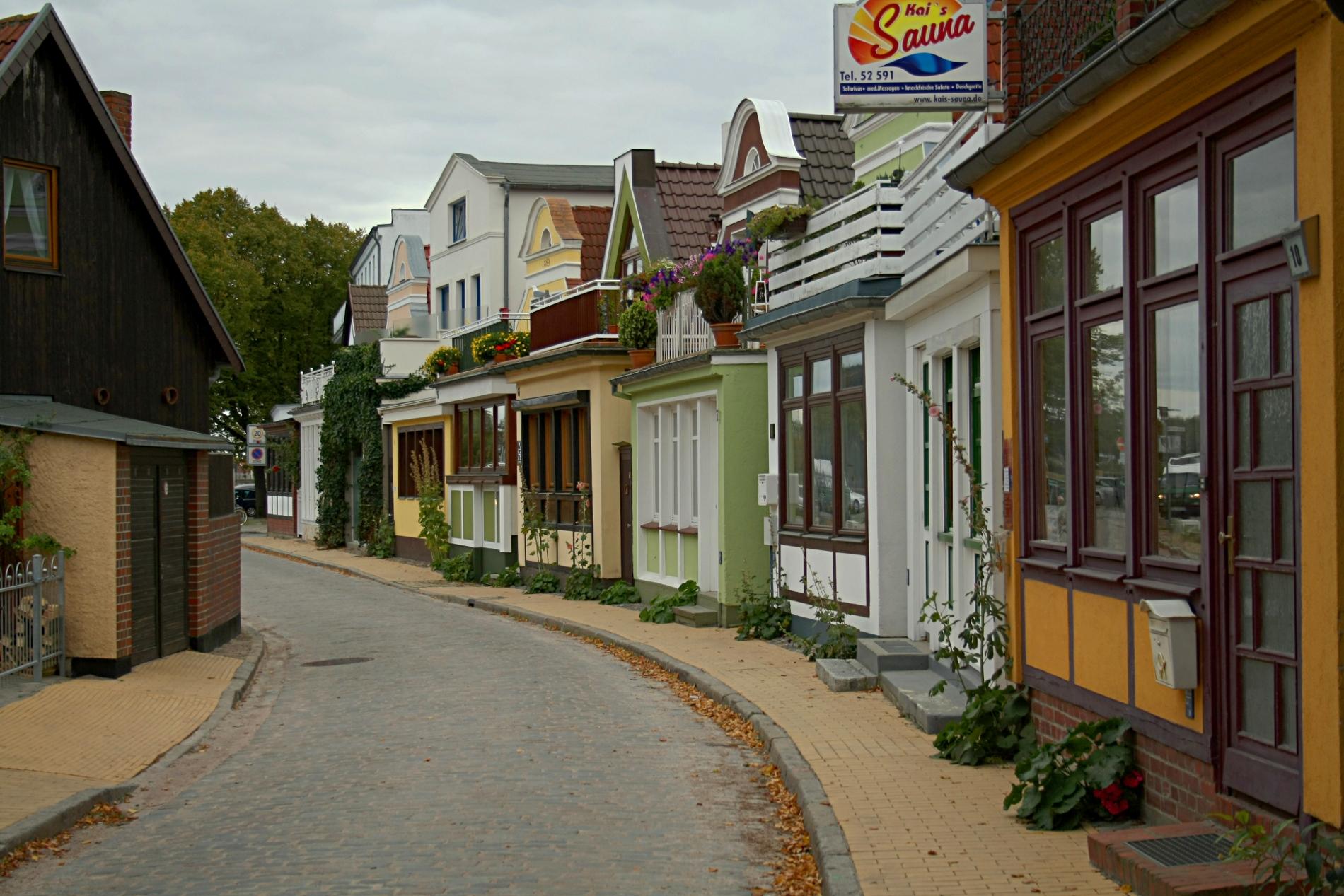 Warnemünde - centro storico