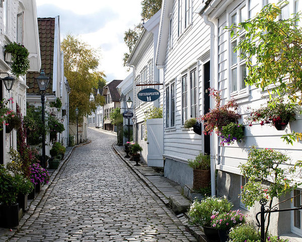 Stavanger - centro storico