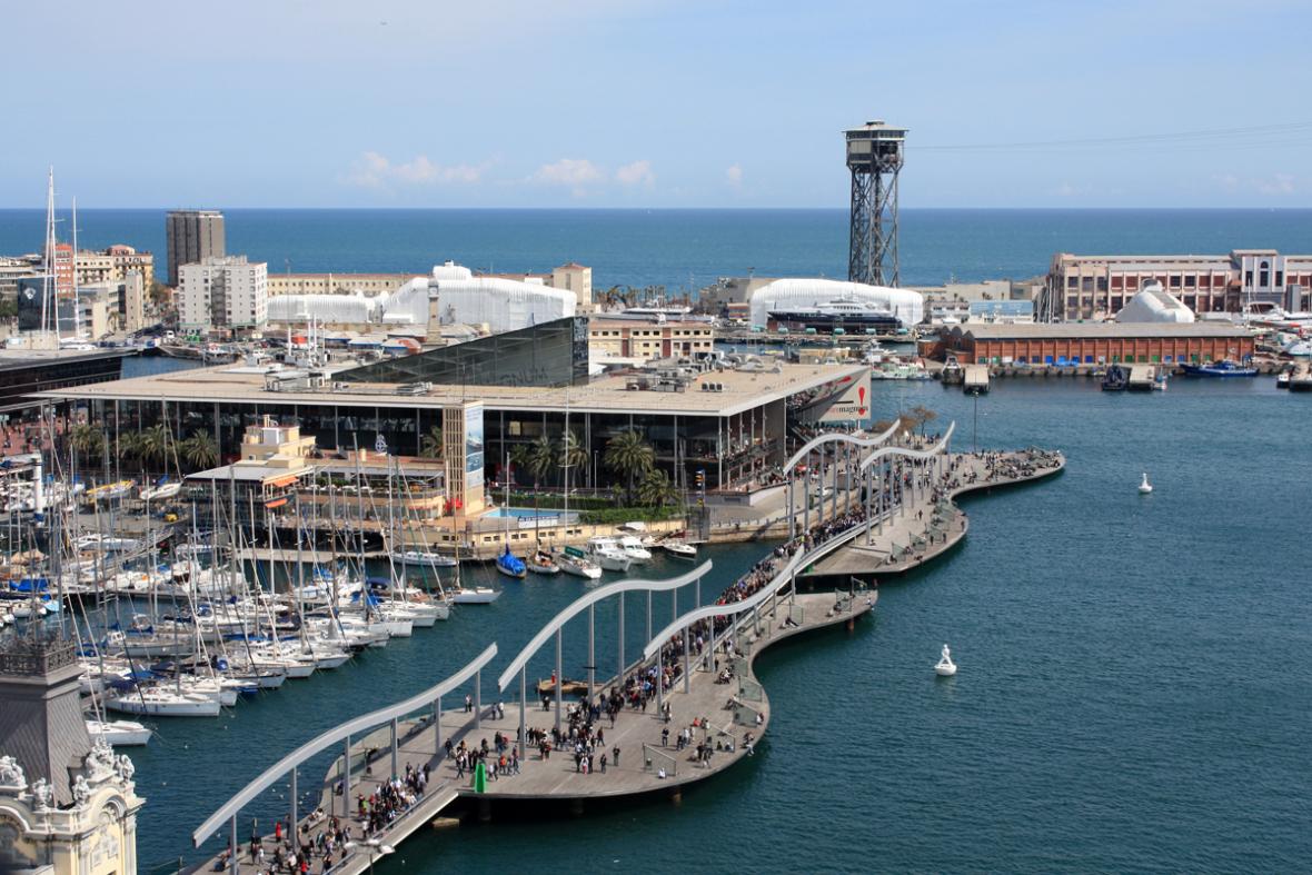Barcellona - Rambla del mar