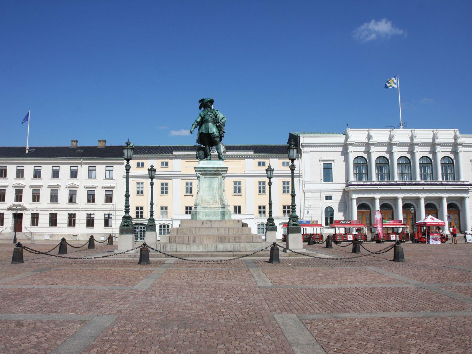 Goteborg -  Gustav Adolfs Torg