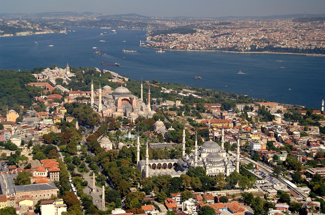ISTANBUL - panorama Sultanhamet
