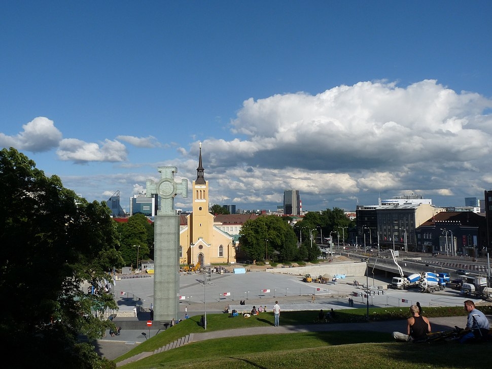 Tallinn - piazza della libertà