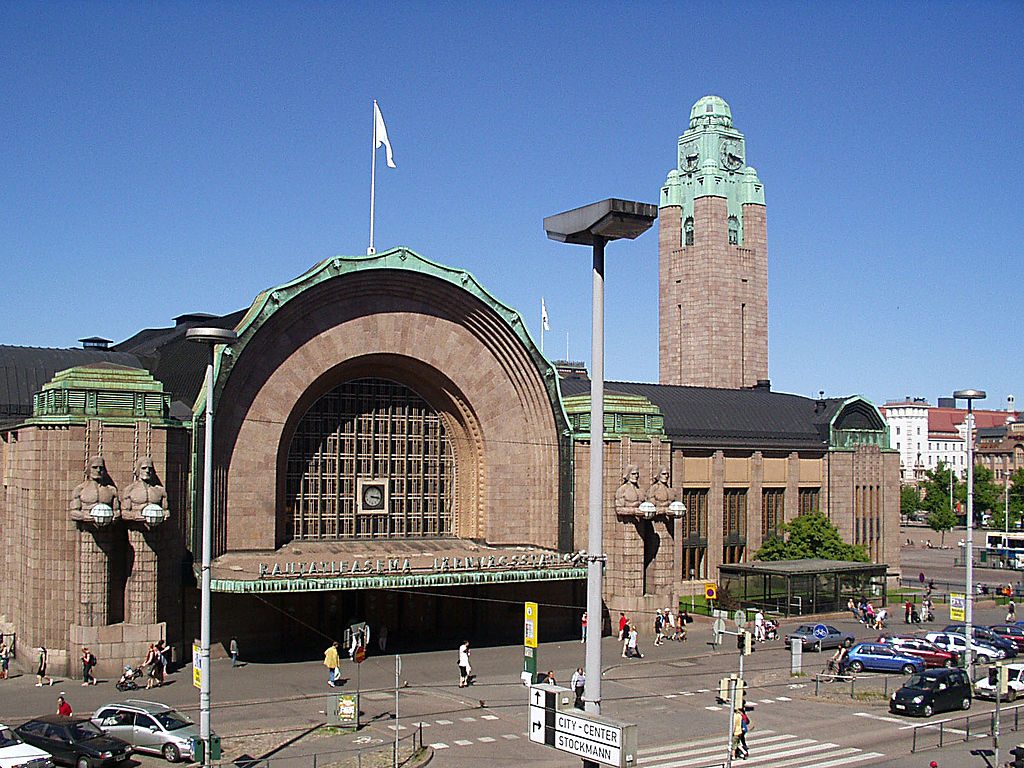 HELSINKI - Stazione ferroviaria