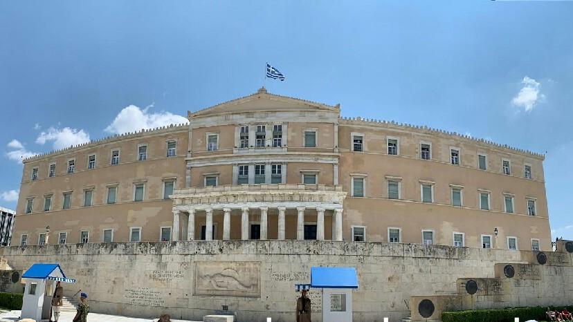 Atene - Palazzo del Parlamento