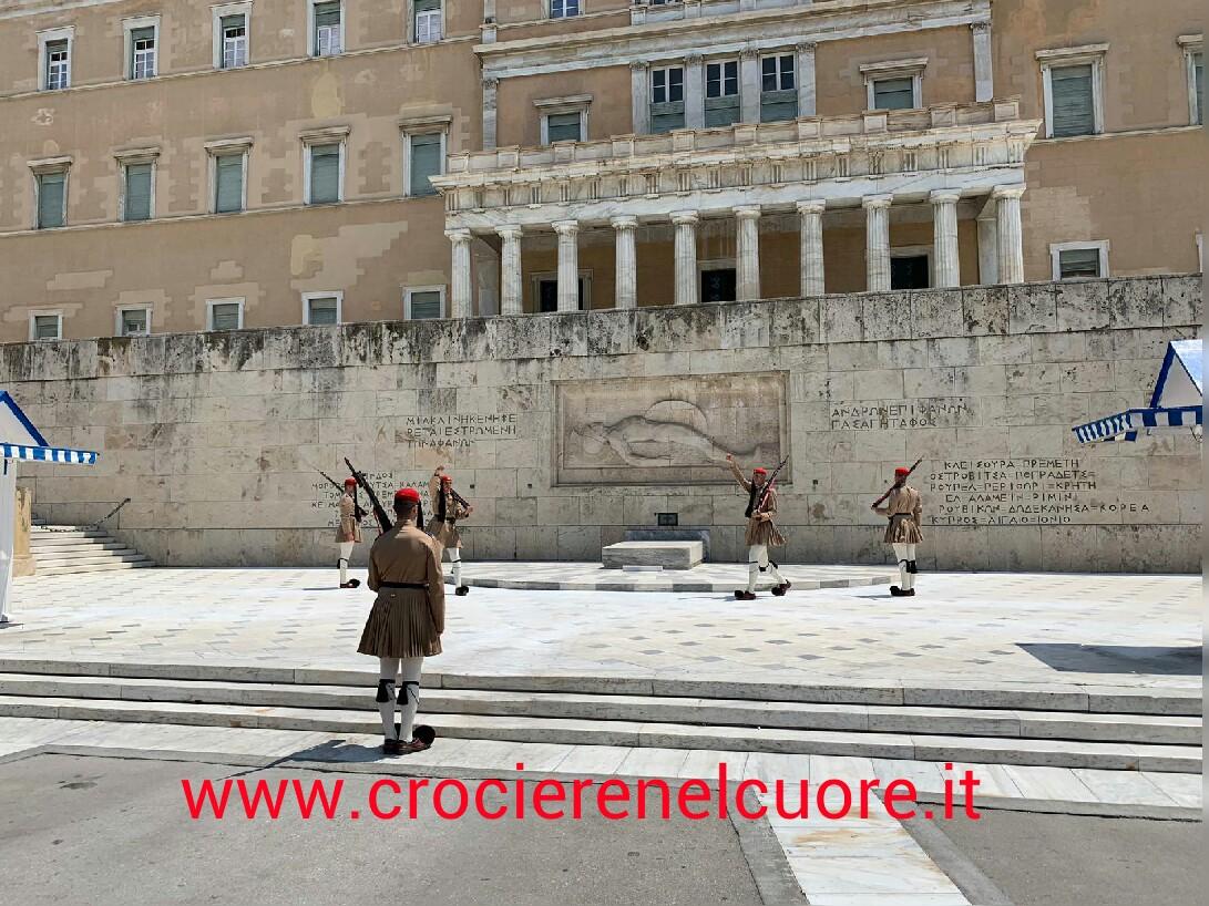 Atene - cambio della guardia