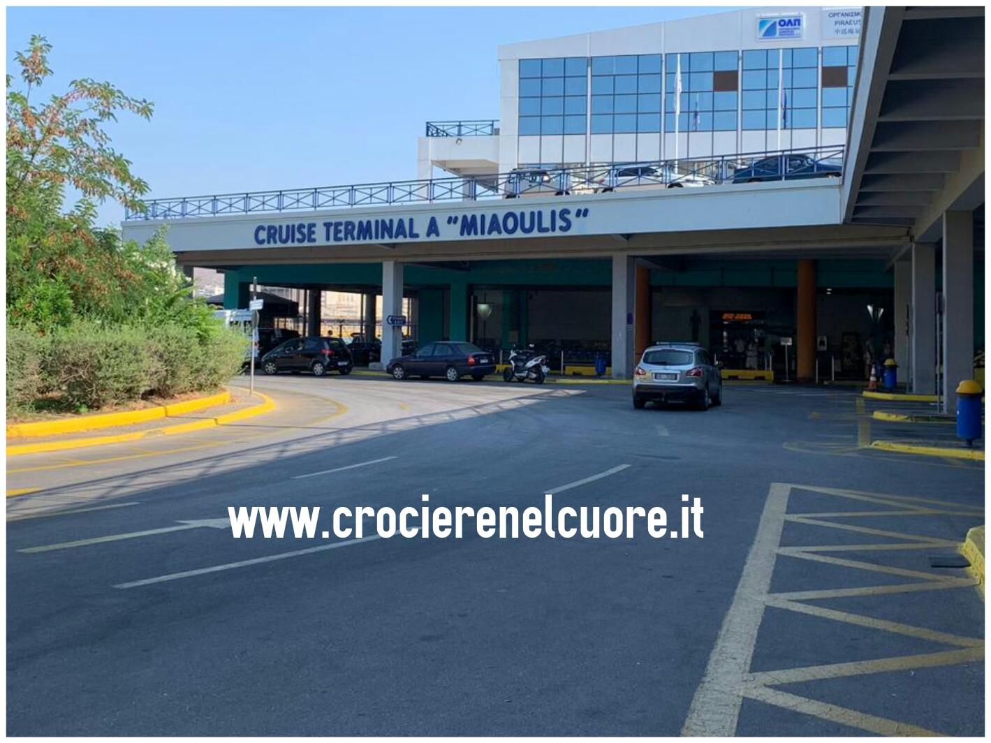 Atene - terminal crociere porto del Pireo