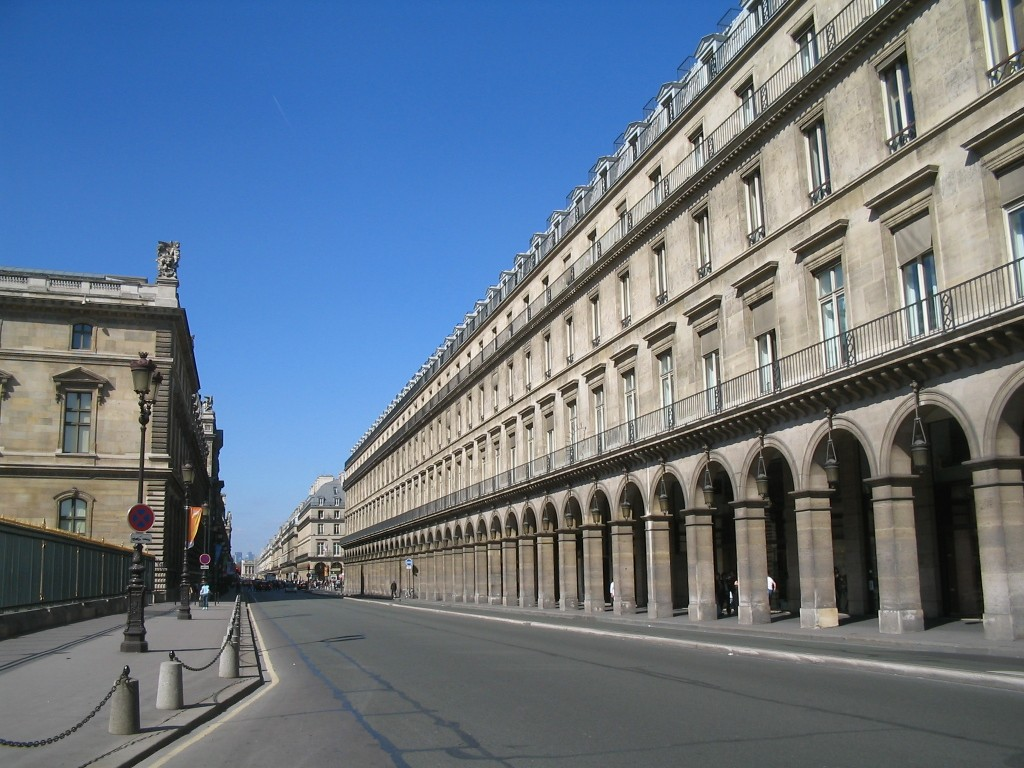 Parigi - rue de Rivoli