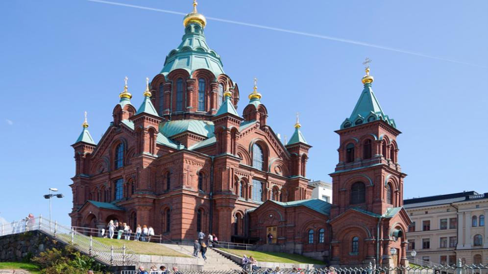 HELSINKI - La cattedrale ortodossa di Uspenski