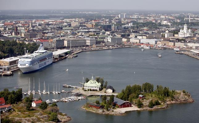 Helsinki - il porto