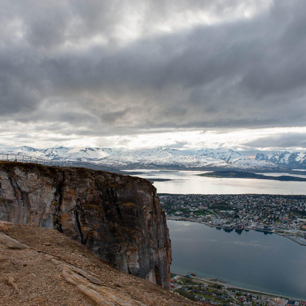 Tromso - VISTA dal monte Storsteinen