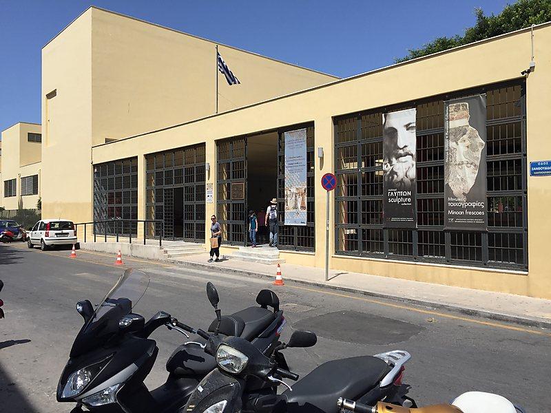 HERAKLION - MUSEO ARCHEOLOGICO il più importante al mondo per quel che riguarda la civiltà minoica